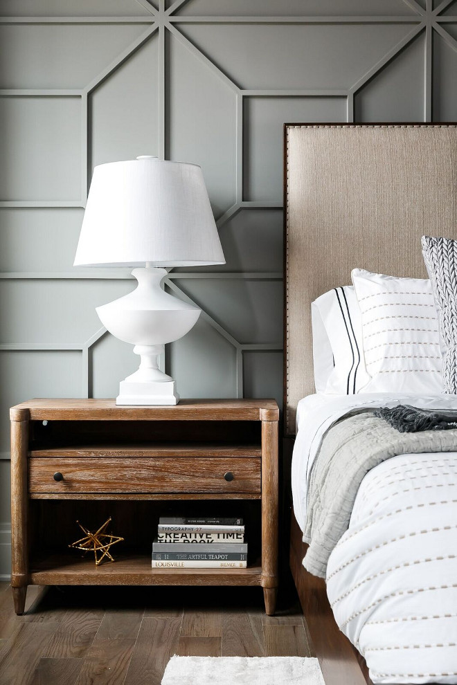 Nightstand. Bedroom nightstand and lamp #nightstand #lamp Ramage Company. Leslie Cotter Interiors, LLC