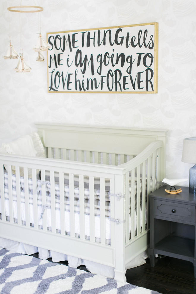 Nursery Signs. Nursery Sign Ideas. Nursery Wall Decor Sing #NurserySigns #NurserySign #NurserySignIdeas #NurseryWallDecor #Nursery #WallDecor Home Bunch Beautiful Homes of Instagram @finding__lovely
