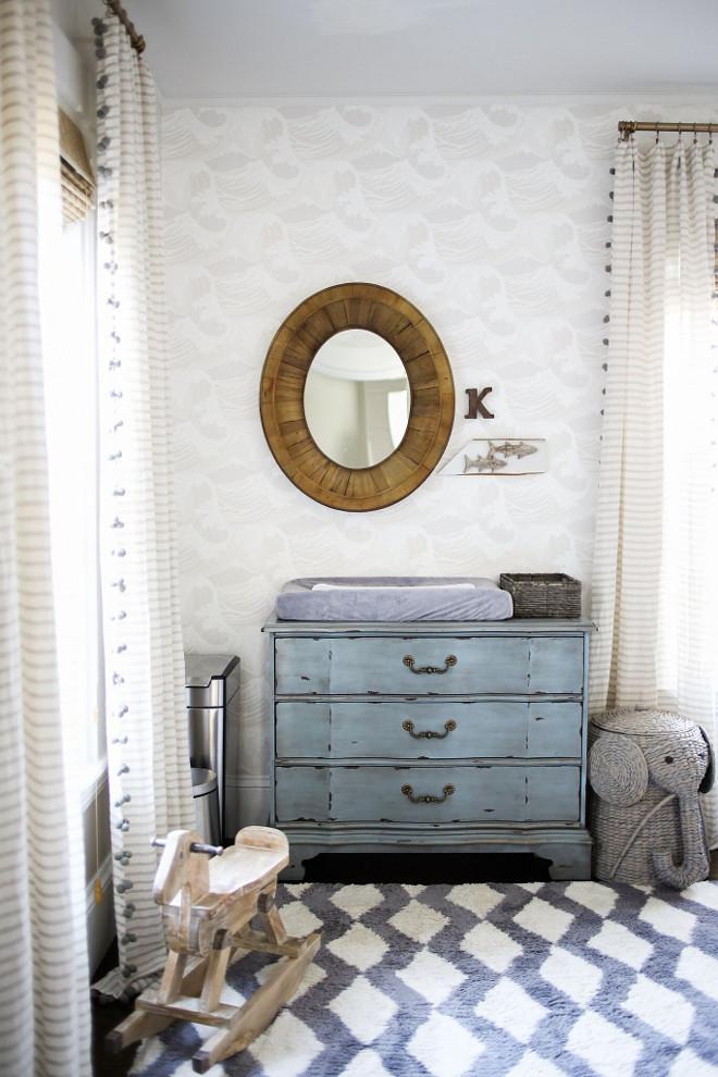 Nursery Wallpaper. Neutral Nursery Wallpaper. Nursery Wallpaper ideas #Nursery #Wallpaper Home Bunch Beautiful Homes of Instagram @finding__lovely