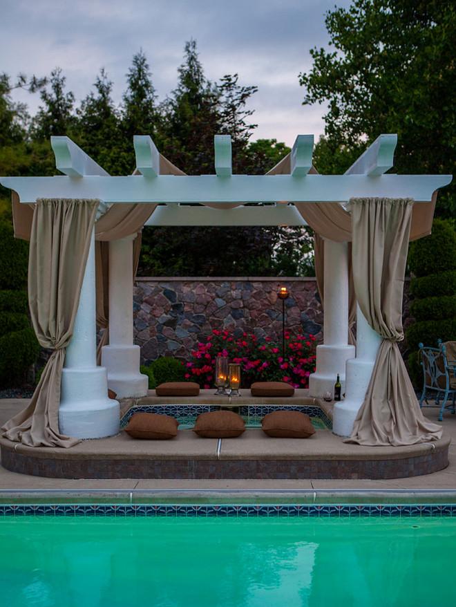 Pergola Hot Tub. Pergola Hot Tub #Pergola #HotTub Choice Designs