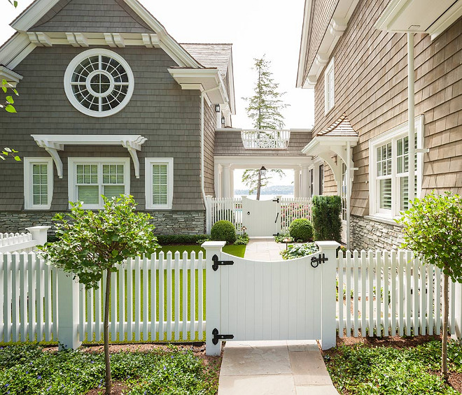 Picket Fence Front Gate. Picket Fence Front Gate Ideas. Picket Fence Front Gate. White Picket Fence Front Gate. White Picket Fence White Front Gate #PicketFence #FrontGate #WhitePicketFence #WhiteFrontGate Stuart Silk Architects