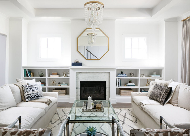 Porter Paint Delicate White. The paint color is Porter Paint Delicate White. This is a calming, serene white that works beautifully on walls and cabinetry as well. Porter Paint Delicate White #PorterPaintDelicateWhite Ramage Company. Leslie Cotter Interiors, LLC