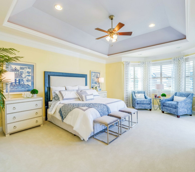 Sherwin Williams SW6379 Jersey Cream. Wall paint color is Sherwin Williams SW6379 Jersey Cream. Tray Ceiling Paint Color is Sherwin Williams SW6239 Upward. #SherwinWilliamsSW6379JerseyCream #SherwinWilliamsSW6239Upward Echelon Custom Homes