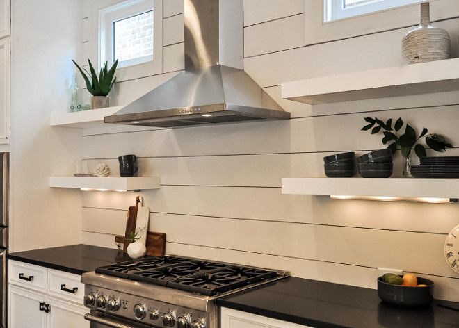 Shiplap Backsplash Kitchen. Kitchen with shiplap backsplash, open floating shelves with under cabinet lighting and black quartz countertop. Countertop to ceiling shiplap. Kitchen with shiplap backsplash. Shiplap Backsplash Kitchen. Kitchen with shiplap backsplash, open floating shelves with under cabinet lighting and black quartz countertop. Countertop to ceiling shiplap. Kitchen with shiplap backsplash. Shiplap Backsplash Kitchen. Kitchen with shiplap backsplash, open floating shelves with under cabinet lighting and black quartz countertop. Countertop to ceiling shiplap. Kitchen with shiplap backsplash. Shiplap Backsplash Kitchen. Kitchen with shiplap backsplash, open floating shelves with under cabinet lighting and black quartz countertop. Countertop to ceiling shiplap. Kitchen with shiplap backsplash #ShiplapBacksplash #ShiplapBacksplashKitchen #KitchenShiplapBacksplash #Kitchen #shiplap #backsplas #openfloatingshelves #floatingshelves #underlighting #kitchencabinetlighting #undercabinetlighting #blackquartz #blackquartzcountertop #Countertoptoceilingshiplap #Kitchens #shiplapbacksplashideas Domaine Development