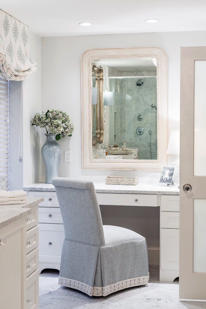 Traditional Bathroom. Traditional bathroom chair, Bathroom #Traditionalbathroom #Vathroom #chair Casabella Interiors