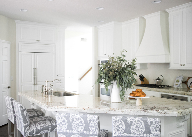 Traditional Home With White And Soft Grey Interiors Home
