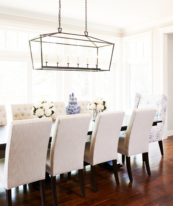 Visual Comfort Darlana Linear Chandelier. Darlana Linear Pendant. Visual Comfort CHC2166AI E.F. Chapman Darlana 6 Light 54 inch Aged Iron with Wax Linear Pendant Ceiling Light. Bria Hammel Interiors
