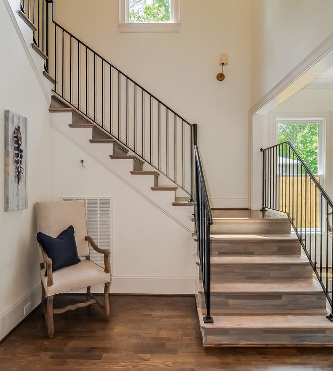 Wrought Iron Staircase Railing. Modern farmhouse with Wrought Iron Staircase Railing. Metal staircase railing. Wrought Iron Staircase Railing Design. Wrought Iron Staircase Railing Ideas #WroughtIronStaircaseRailing #Modernfarmhousestaircase #Modernfarmhouses #staircase #WroughtIronstaircaseRailing #IronStaircaseRailing #IronStaircaseRailingDesign #MetalStaircaseRailing #metalrailing Domaine Development