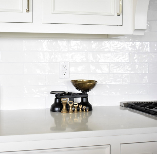 Backsplash - Walker Zanger - Café series in Milk gloss. White Backsplash - Walker Zanger - Café series in Milk gloss #Backsplash #whitebacksplash #WalkerZanger #Café #Milkgloss Kate Abt Design