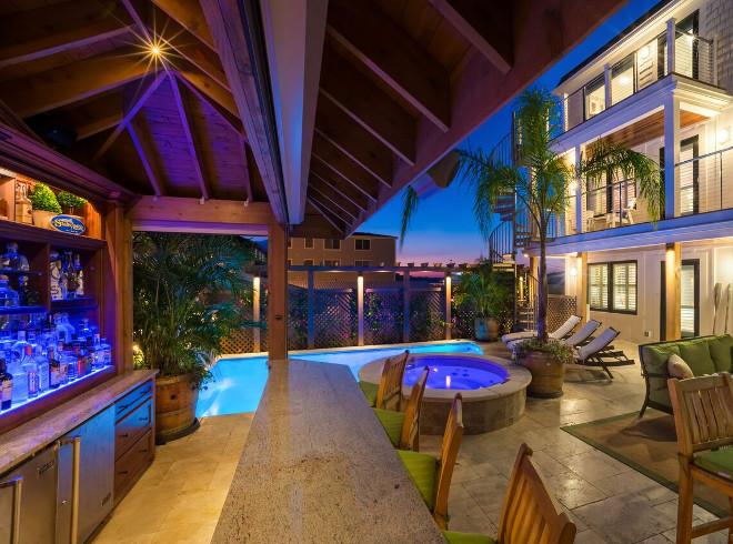 Family Vacation Beach House - Home Bunch Interior Design Ideas on Backyard Bar Ideas id=37909