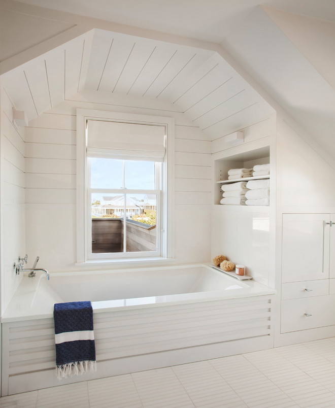 Bath alcove with shiplap. Bathroom Bath alcove with shiplap. Bath alcove with shiplap #Bathalcove #bathroom #shiplap Vicente Burin Architects