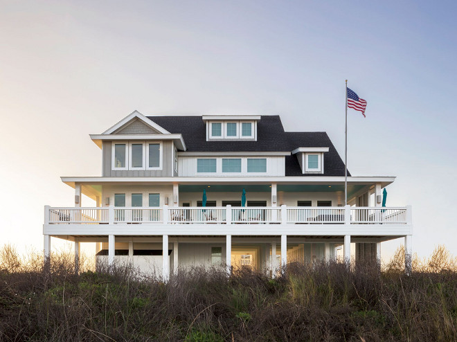 Beach House exterior. Beach House exterior ideas. Beach House exterior design ideas #BeachHouse #BeachHouseexterior #BeachHouseexteriordesign #BeachHouseexteriordesignideas Julie Barrett Design