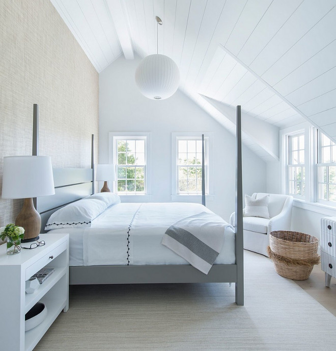 Bedroom Sloped Ceiling. Bedroom Sloped Ceiling Ideas. Bedroom Sloped Ceiling. Bedroom Sloped Ceiling #Bedroom #SlopedCeiling Cynthia Hayes Interior Design