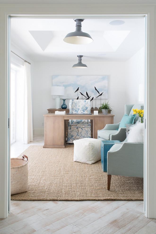 Coastal interior design ideas home bunch interior design for Benjamin moore office