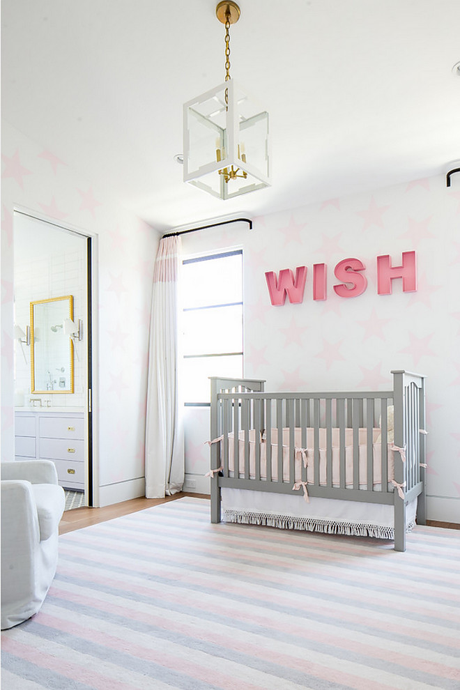 Blush and Grey Nursery. Blush and Grey Nursery. Blush and Grey Nursery #BlushandGreyNursery #BlushandGrey #Nursery Patterson Custom Homes