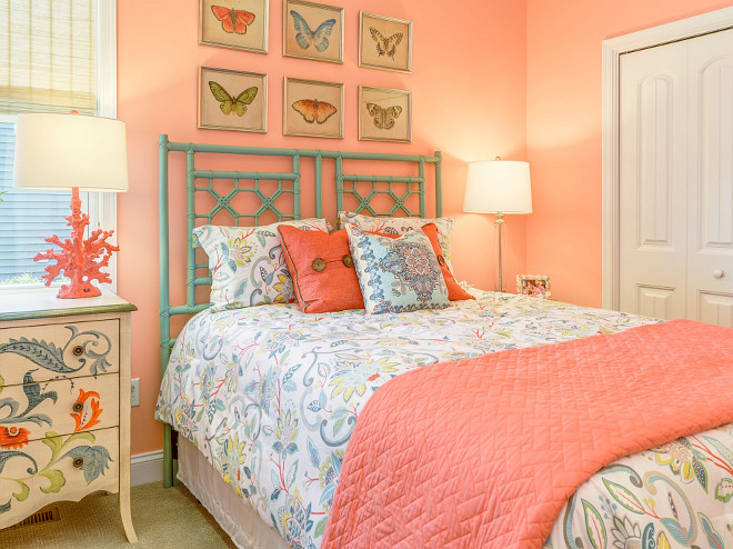 bedroom pink colour empty nester cape cod cottage design home bunch interior 10605