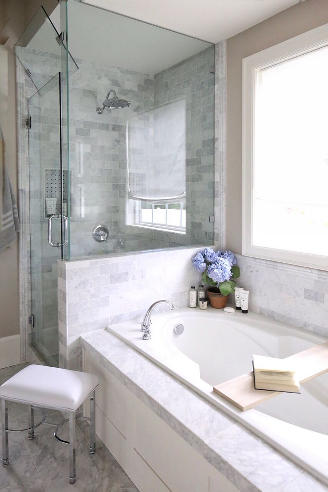 Carrara Marble Bathroom Tile. Carrara Marble Bathroom Tile. Carrara Marble Bathroom Tile. Carrara Marble Bathroom Tile. Carrara Marble Bathroom Tile #CarraraMarbleBathroomTile #CarraraMarbleTile #CarraraMarble #BathroomTile Home Bunch's Beautiful Homes of Instagram @cambridgehomecompany