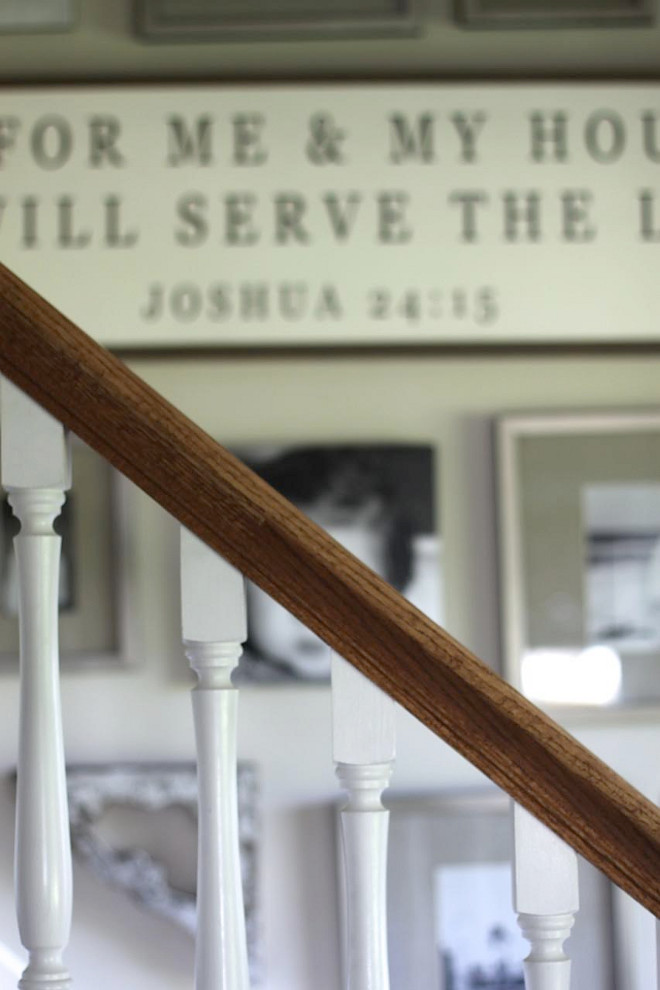 Classic Staircase Spindles. As I was cleaning the spindles, I was thinking I love them just as much as when I picked them over 15 years ago....classic just lasts forever. Home Bunch's Beautiful Homes of Instagram @blessedmommatobabygirls