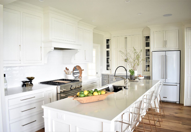 Crisp and Clean White Kitchen Design. Crisp and Clean White Kitchen Design. Crisp and Clean White Kitchen Design Ideas #CrispandCleanWhiteKitchen #CrispandCleanWhiteKitchenDesign Kate Abt Design
