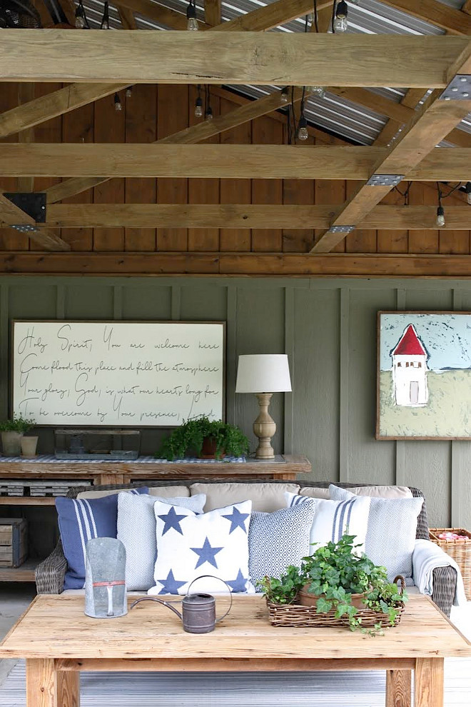 Farmhouse Barn Porch. Barn Porch. Farmhouse Barn Porch. Barn Porch Ideas. Farmhouse Barn Porch. Barn Porch #Farmhouse #Barn #Porch #BarnPorch Home Bunch's Beautiful Homes of Instagram @blessedmommatobabygirls