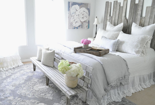 Farmhouse Bedroom Bedding. Farmhouse Bedroom Bedding. Farmhouse Bedroom Bedding. Farmhouse Bedroom Bedding #FarmhouseBedroomBedding #farmhousebedding Home Bunch's Beautiful Homes of Instagram @becky.cunningham.home