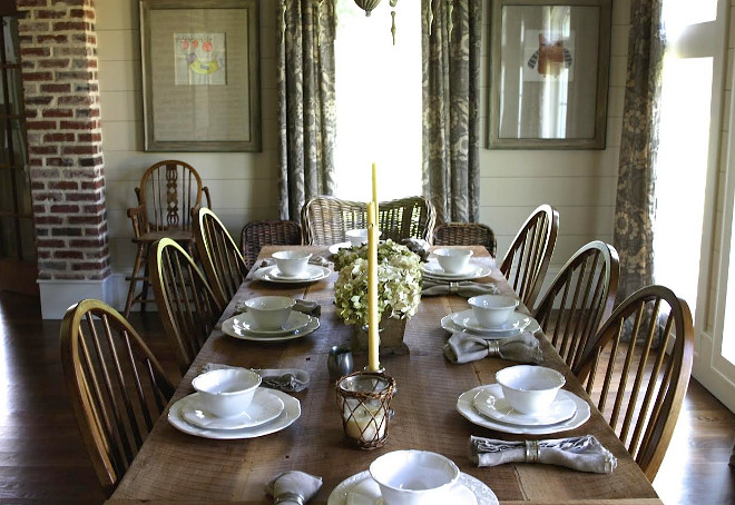 Farmhouse Dining Room Table Setting. Farmhouse Dining Room Table Setting. Farmhouse Dining Room Table Setting Ideas. Farmhouse Dining Room Table Setting #FarmhouseDiningRoom #Farmhouse #DiningRoom #TableSetting Home Bunch's Beautiful Homes of Instagram @blessedmommatobabygirls