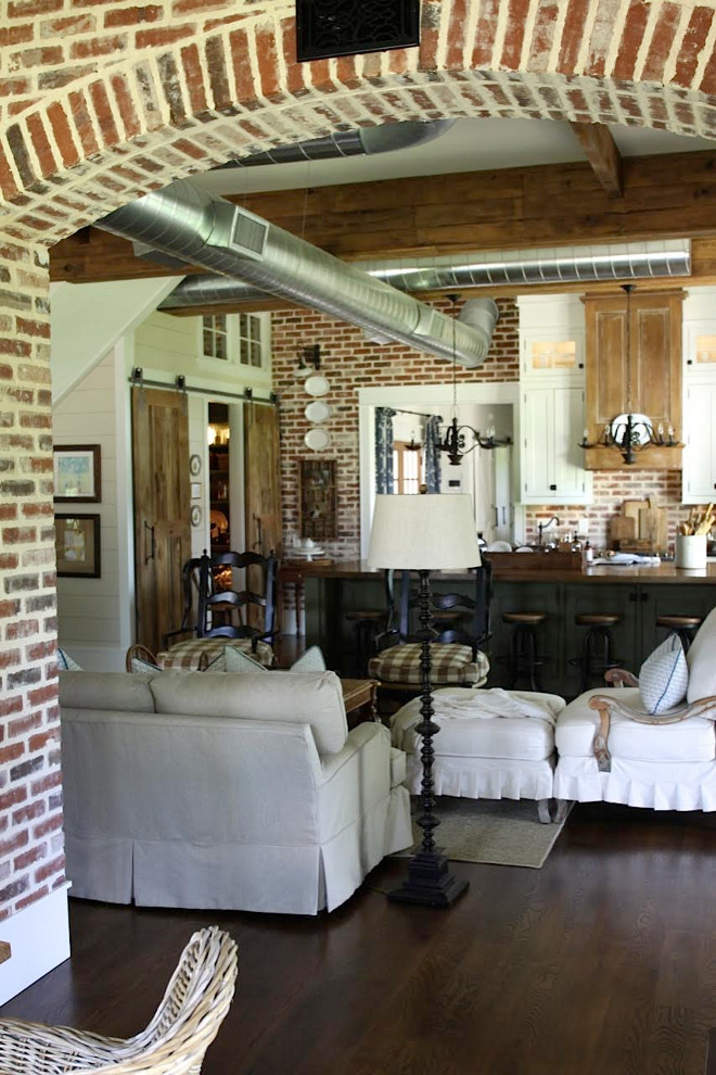 Farmhouse Exposed Brick Interiors. Farmhouse Exposed Brick Interiors. Farmhouse Exposed Brick Interiors. Farmhouse Exposed Brick Interiors #Farmhouse #ExposedBrickInteriors Home Bunch's Beautiful Homes of Instagram @blessedmommatobabygirls