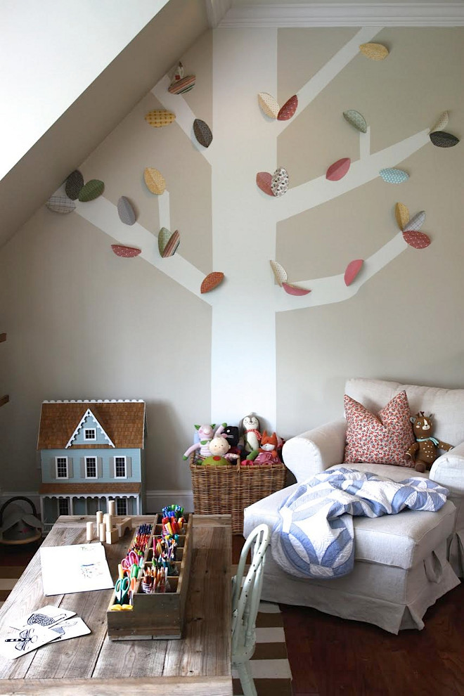 Farmhouse Playroom. Farmhouse Playroom Ideas. Farmhouse Playroom. Farmhouse Playroom #FarmhousePlayroom Home Bunch's Beautiful Homes of Instagram @blessedmommatobabygirls