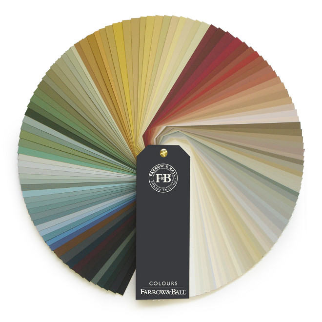 Farrow and Ball Color Wheel