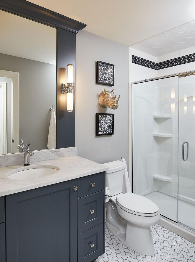 Laundry Room Accent Wall Paint