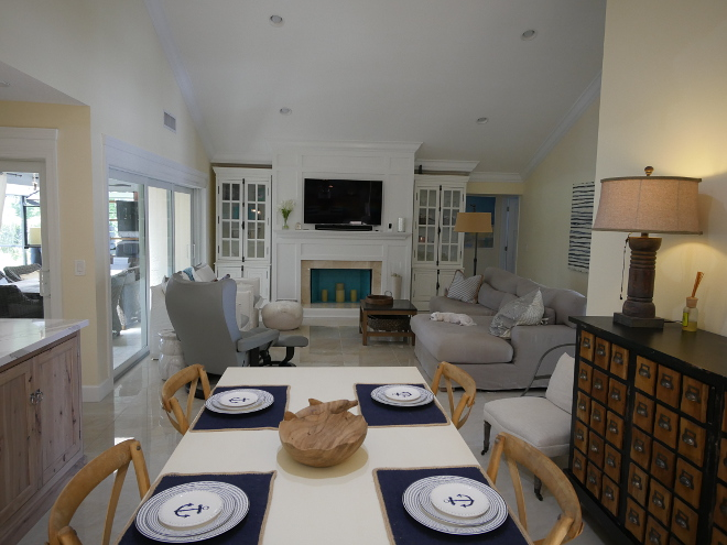 Kitchen Dining Room Family Room Layout. Waterview Kitchens