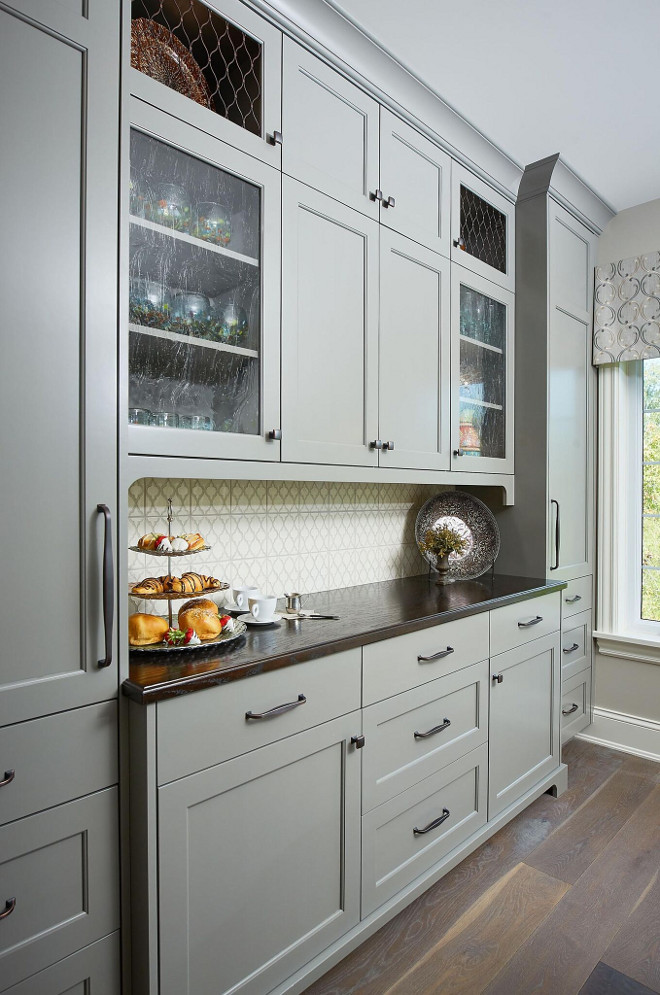White Oak Cabinets With Black Hardware