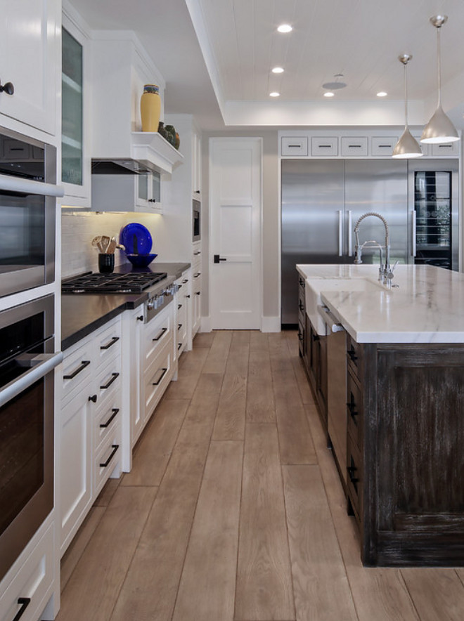 "Light Rustic European white oak hardwood floor. Hardwood Floor- 7"" light rustic European white oak, ¾"" engineered floor, custom stain applied after installation, moisture barriers applied at first floor #LightRusticEuropeanwhiteoakhardwoodfloor #RusticEuropeanwhiteoakhardwoodfloor #Europeanwhiteoakhardwoodfloor Patterson Custom Homes"