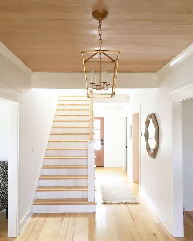 Light hardwood floor and light wood shiplap. Light hardwood floor and light wood shiplap ideas. Light hardwood floor and light wood shiplap. Light hardwood floor and light wood shiplap #Lighthardwoodfloor #lightwoodshiplap #shiplap Beautiful Homes of Instagram @theclevergoose