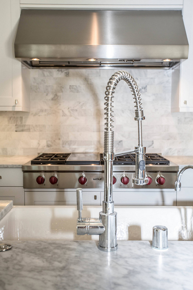 Meridian Single Handle Deck Mounted Kitchen Faucet with Pull Down Hand spray. Blanco Meridian Single Handle Deck Mounted Kitchen Faucet with Pull Down Hand spray #kitchen #faucet #blanco Calista Interiors