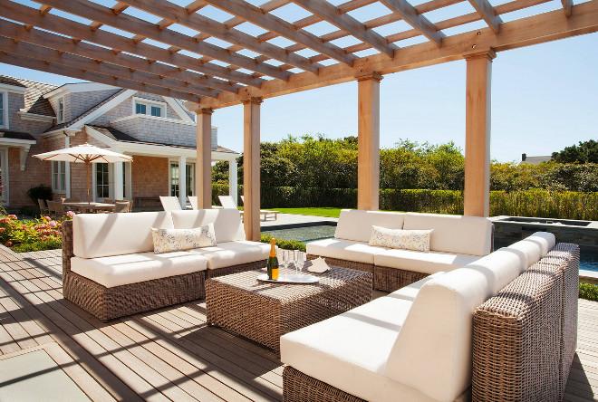 Pergola Deck. Pergola Deck. Pergola Deck ideas. #Pergola #Deck Cynthia Hayes Interior Design