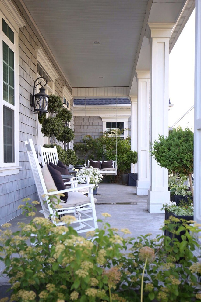 Porch Swing and Rocking Chairs. Front Porch Swing and Rocking Chairs. Porch Swing and Rocking Chairs. Porch Swing and Rocking Chairs. Porch Swing and Rocking Chairs #Porch #PorchSwing #swing #RockingChairs Home Bunch's Beautiful Homes of Instagram @cambridgehomecompany