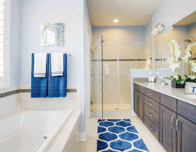 Sherwin Williams SW 6520 Honest Blue Soothing Blue Paint Color Sherwin Williams SW 6520 Honest Blue Sherwin Williams SW 6520 Honest Blue #SherwinWilliamsSW6520HonestBlue Echelon Interiors