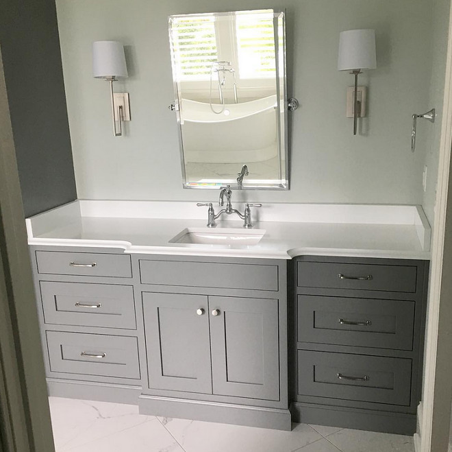 Sherwin Williams Classic French Gray Cabinet Color Sherwin: New Construction Interior Design Ideas