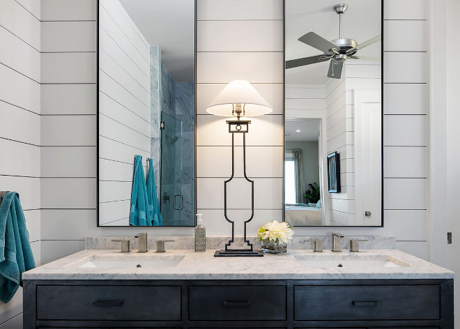 Shiplap Bathroom Backsplash. Shiplap Bathroom Backsplash Ideas. Shiplap Bathroom Backsplash. Shiplap Bathroom Backsplash #Shiplap #Bathroom #Backsplash Julie Barrett Design