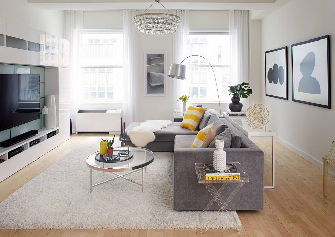 Small Living room. Apartment living room #smallinteriors Tara Benet Design