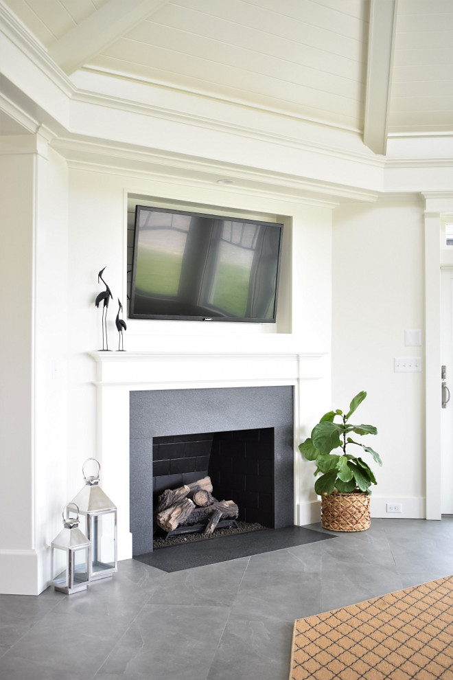 TV Niche above fireplace. TV Niche above fireplace ideas. TV Niche above fireplace dimensions. TV Niche above fireplace #TVNiche #tvabovefireplace Kate Abt Design