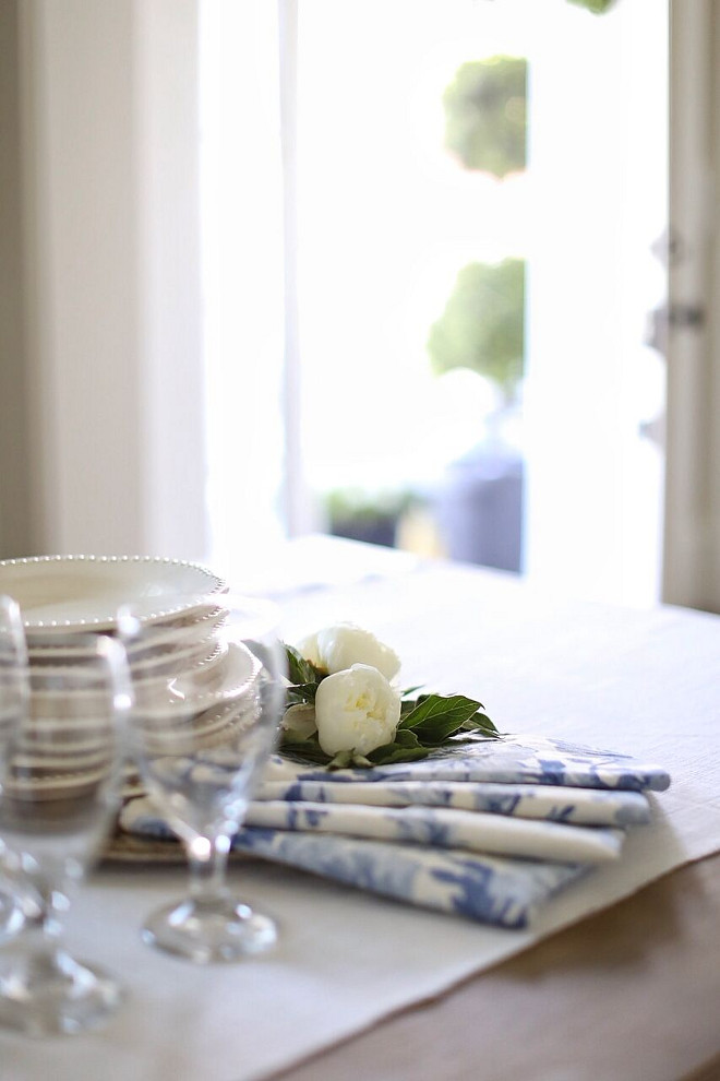 Table Linens. Table Linens. Table Linens. Table Linens #TableLinens Home Bunch's Beautiful Homes of Instagram @cambridgehomecompany