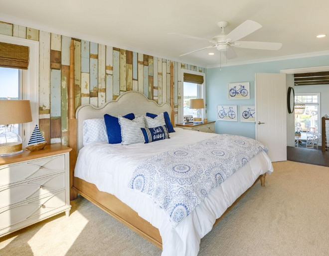 Vertical beachy shiplap. Vertical beachy shiplap wall. Wall paint color is Sherwin Williams Tradewind. Walls are Nuvelle Beach House Lagoon Laminate Floor. Vertical beachy shiplap #Verticalbeachyshiplap Echelon Interiors