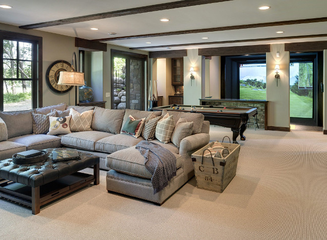 Walk-out Basement. Walk-out Basement. Walk-out Basement ideas. Walk-out Basement #WalkoutBasement #Basement Stonewood LLCt