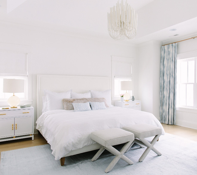 White Bedroom Paint Color Benjamin Moore Simply Painted In