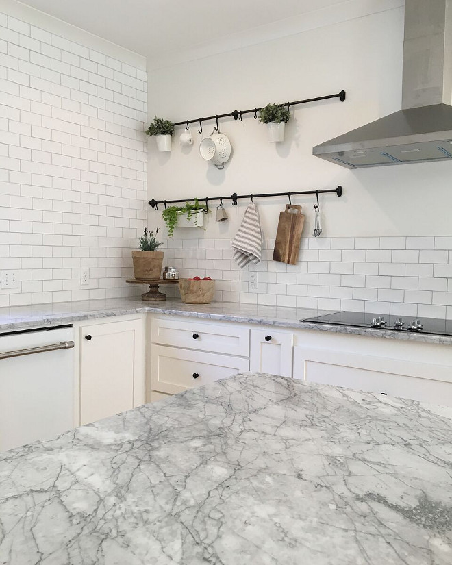 White Kitchen Tiles Grey Grout: Beautiful Homes Of Instagram