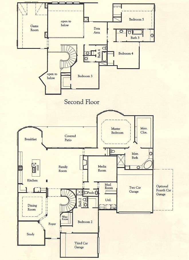 Family home floor plan. Family home floor plan ideas. Family home floor plan. Family home floor plan #Familyhomefloorplan #Familyhome #floorplan Home Bunch's Beautiful Homes of Instagram @thegracehouse