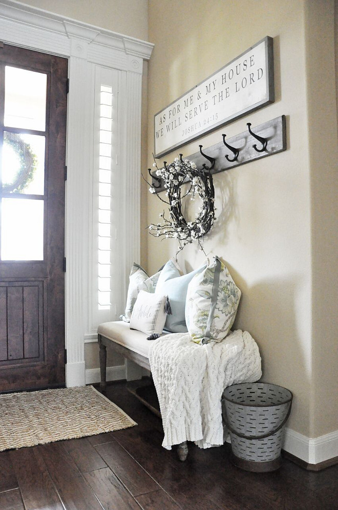 Farmhouse Foyer Zara : Beautiful homes of instagram home bunch interior design