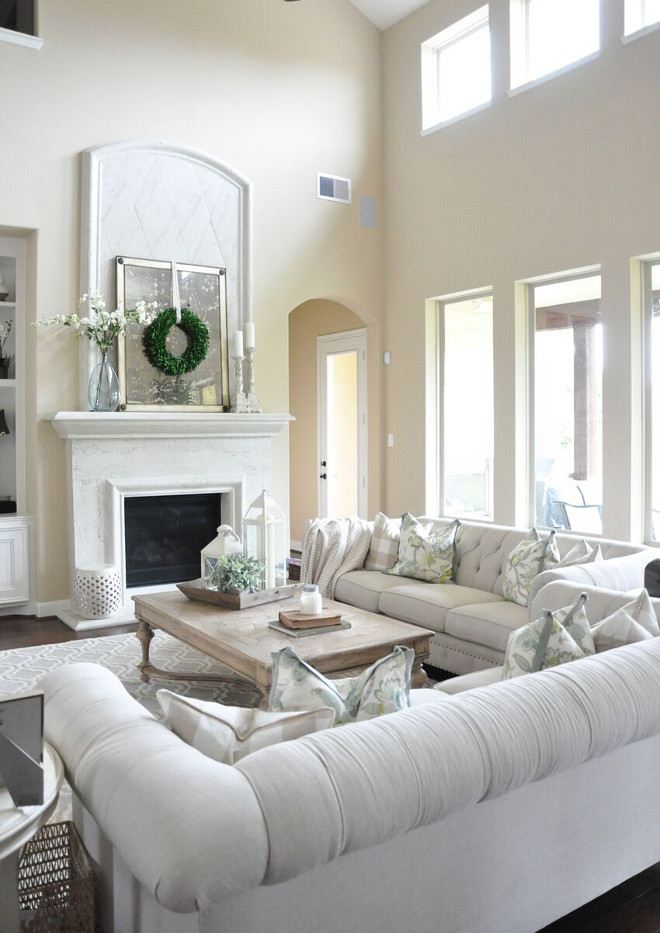 Light Tan Paint Color. Light Tan Paint Color. Light Tan Paint Color Santa Fe by PPG Pittsburgh Paints. Light Tan Paint Color #LightTanPaintColor #LightTan #PaintColor Home Bunch's Beautiful Homes of Instagram @thegracehouse